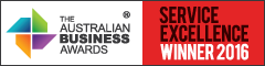 Australian Business Award Service Excellence - Dixon Advisory